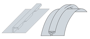 rau 127 semi-circular dormer square seam folder