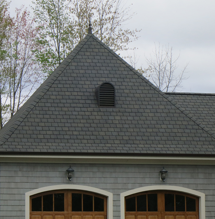 Kynar Aluminum Dormer Installed