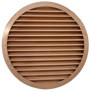 3' copper circle sidewall vent