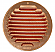 120mm Round Copper Soffit Vent