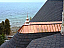 Chapel Finial Installed on a Home on Lake Michigan