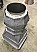 """Baltic Chimney Pot with Stainless Liner and 1"""" Ceramic Fiber Blanket Insulation"""