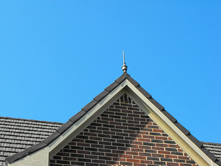 Utopia Finial On Steel Roof