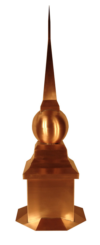 Chapel Finial With 8 Sided Base