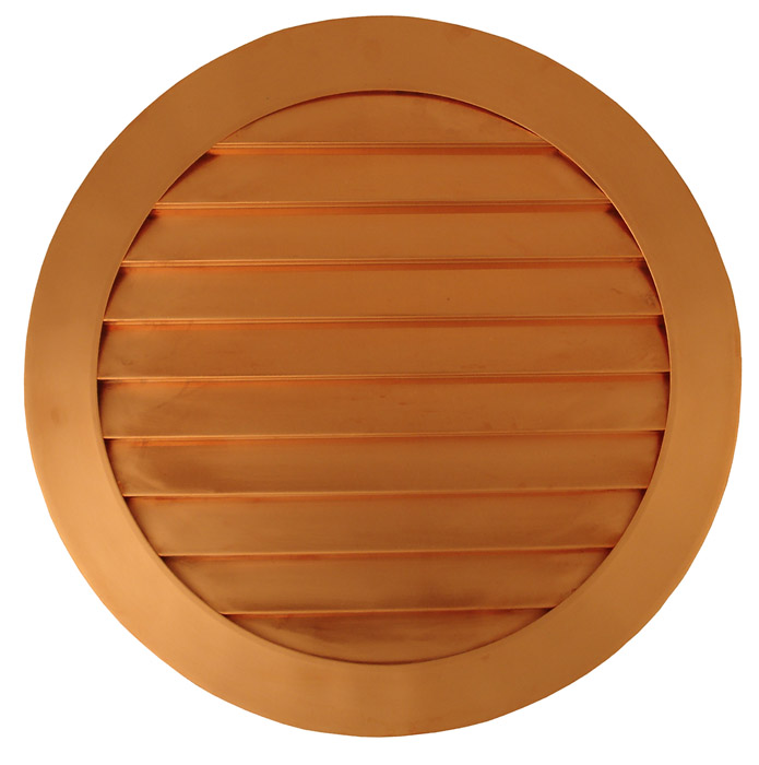 Un-Vented Circle Vent - Copper
