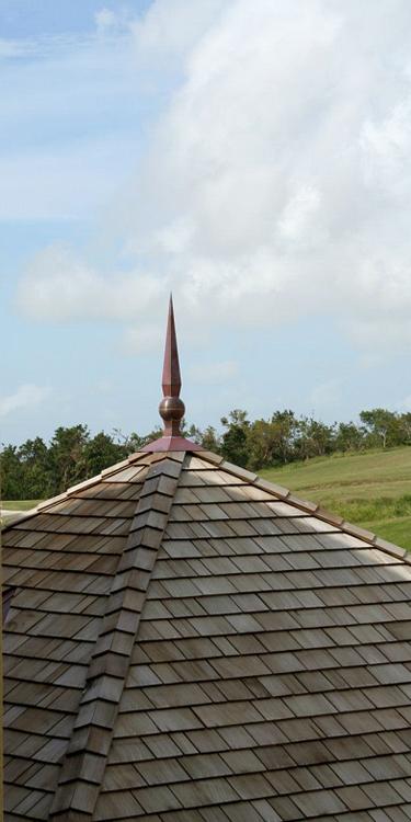 Knight Finial in Barbados