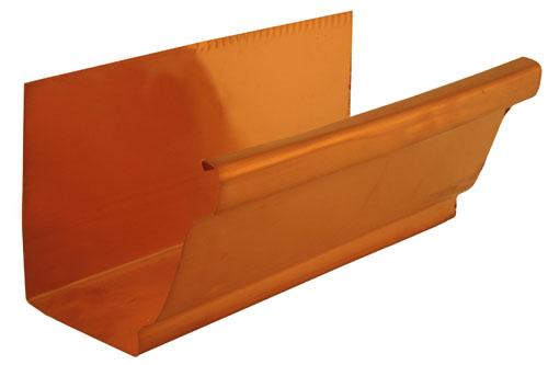K Style Gutter - Copper