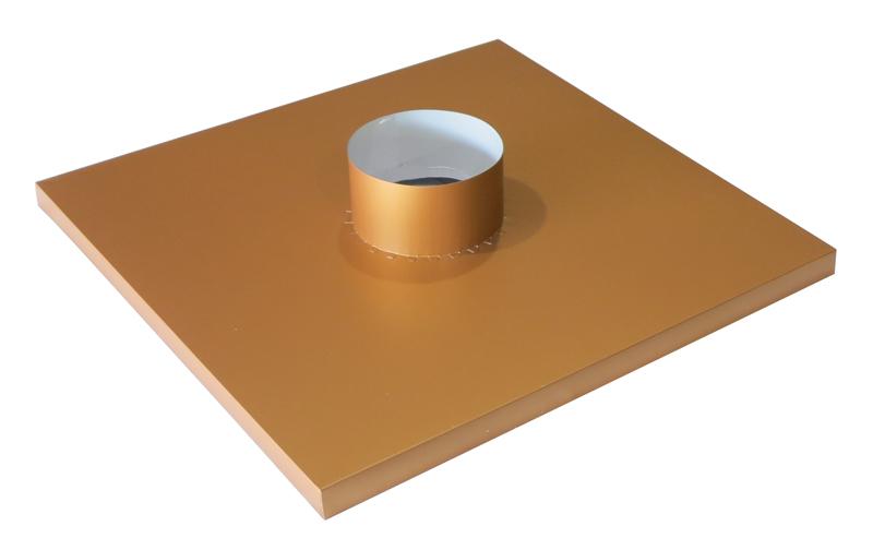 Kynar Aluminum Chase Cap (Classic Copper)
