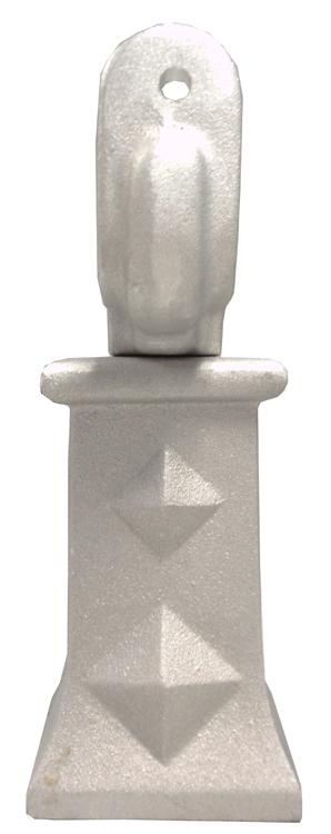 """4"""" Diamond Offset - Aluminum"""