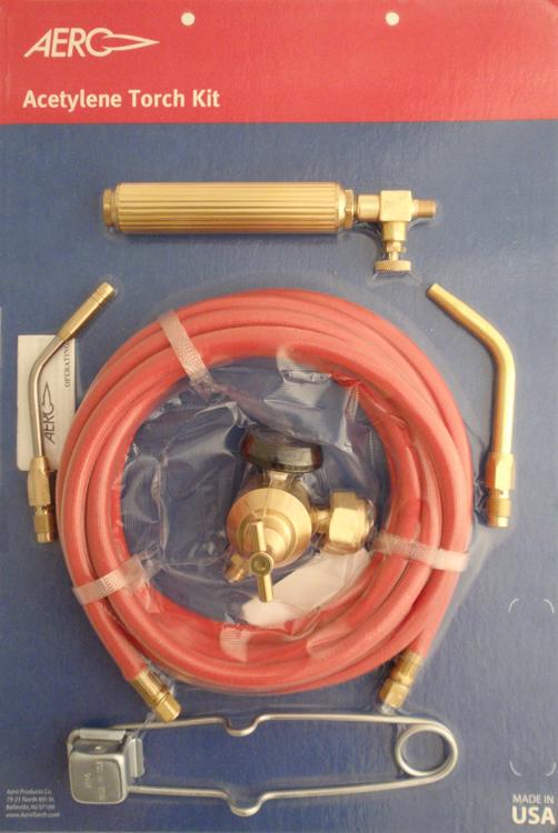Aero Acetylene Torch Kit
