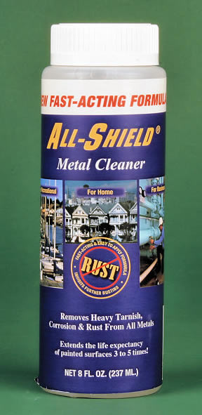 All-sheild metal cleaner