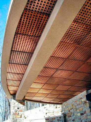 Ceiling Tile Lattice Old World Distributors Inc