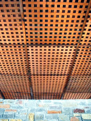 Copper Ceiling Tile
