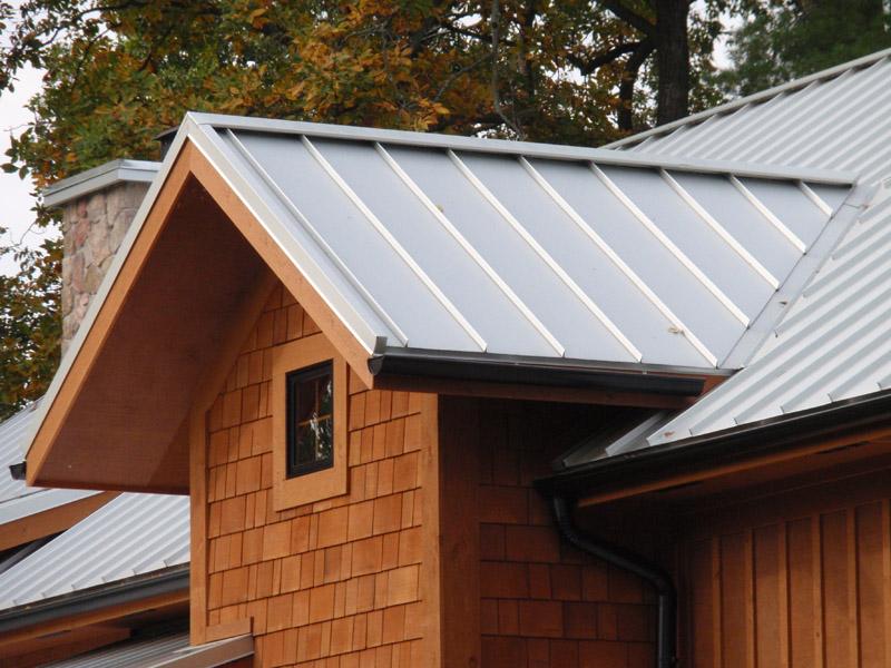 Painted Kynar Standing Seam Roof