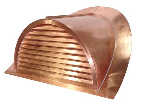 Half Round Dormer - Copper