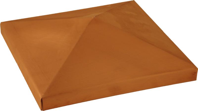 Low Profile Copper Post Cap