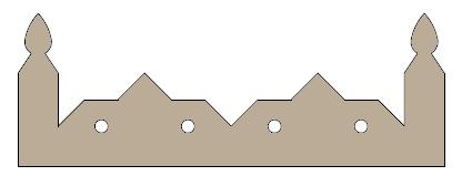 pyramid cresting