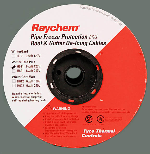 raychem heating cables