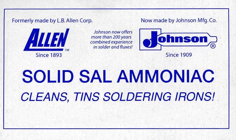 Solid Sal Ammoniac
