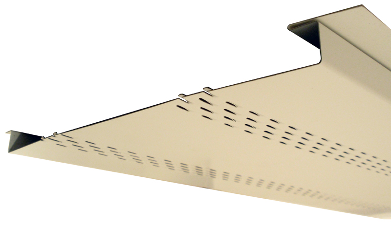 "1"" Soffit Panel Double Vent"