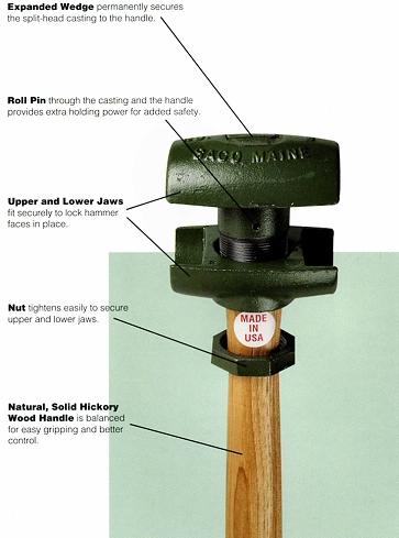 split head hammer