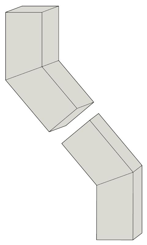 Steel Elbows - B 40 degrees