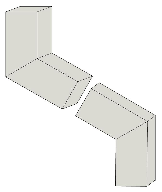 Steel Elbows - B 72 degrees