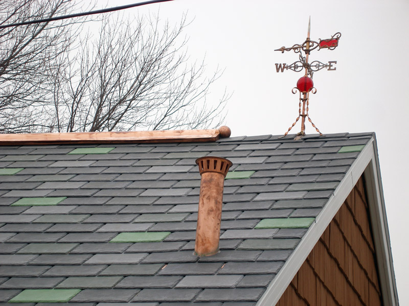 Limited Edition 2009 Weathervane Installed