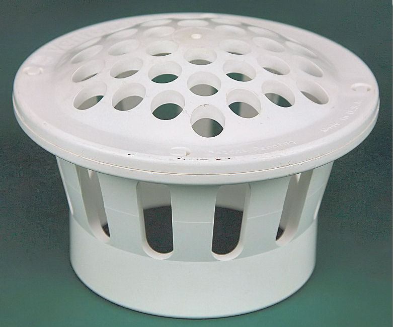 White PVC Vent Cap