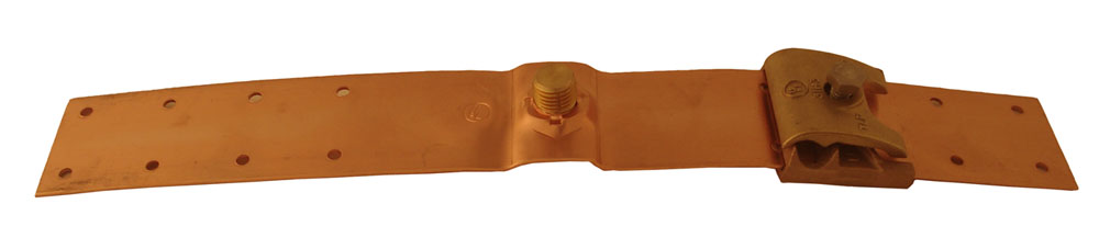 Copper Mounting Saddle Plate
