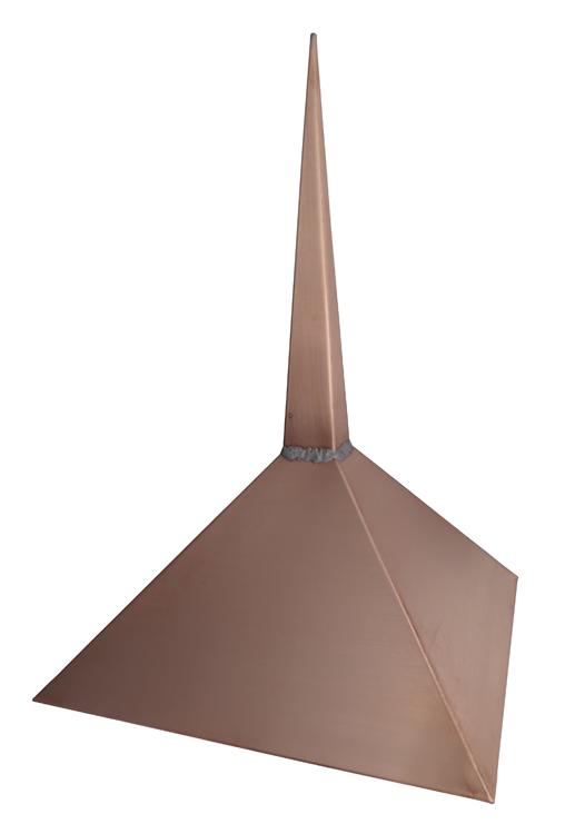 Spike Finial in Copper