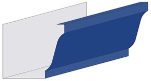 K-Style Kynar Steel Gutter