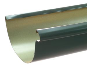 Half Round Aluminum Gutter