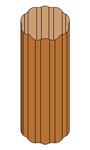Copper - Corrugated