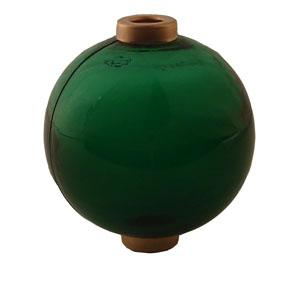 Round Emerald Green