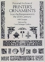 Pictorial Archive of Printer's Ornaments
