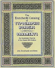 The Enschedé Catalog of Typographic Borders and Ornaments