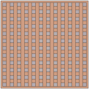 Ceiling Tile - Woven