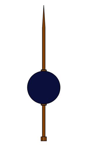 Glass Ball & Rod