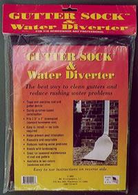 Gutter Sock™ & Water Diverter