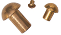 Round Head Copper Rivets