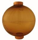 Round Transparent Amber