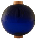 Round Cobalt Blue