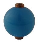 Round Opaque Light Blue