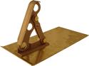 Bronze Bracket - 3 Pipe