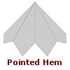 Pointed Hem