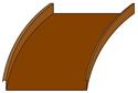 Mechanical Lock Radius - Copper