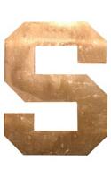 Copper Letter