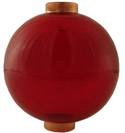 Round Ruby Red