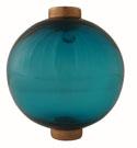 Round Transparent Light Blue